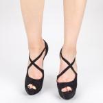 Sandale Dama cu Toc si Platforma OLGM5F Black Mei