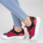Pantofi Sport Dama YKQ68 Black Mei