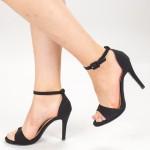 Sandale Dama cu Toc XD250Y Black Mei