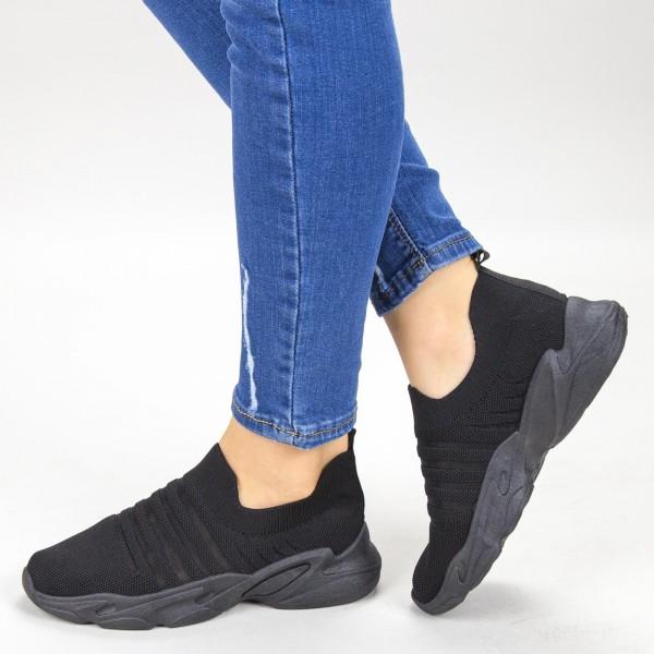 Pantofi Sport Dama YQ59A All-Black Mei