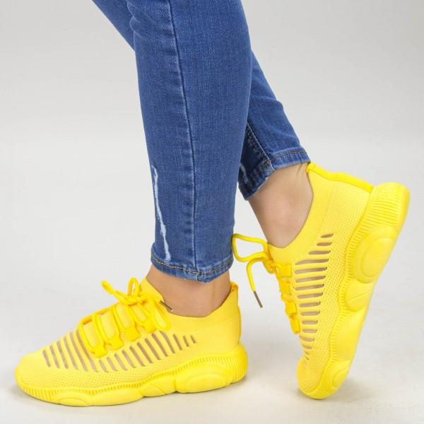 Pantofi Sport Dama YQ60 Yellow Mei