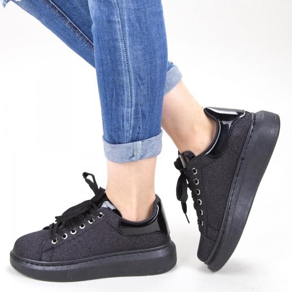 Pantofi Sport Dama YKQ136A Black Mei