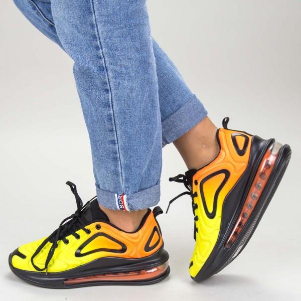 Pantofi Sport Dama YKQ135 Yellow Mei