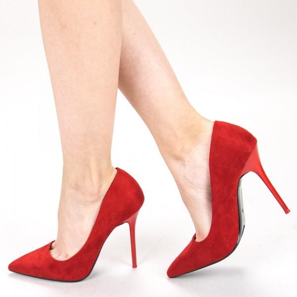 Pantofi cu Toc GE36 Red Mei