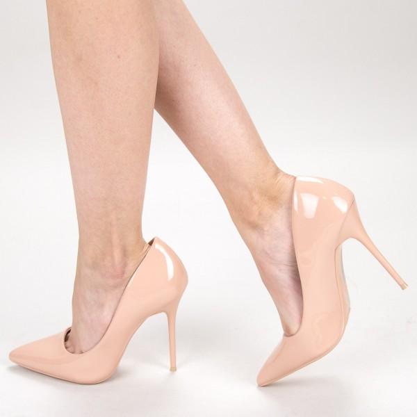 Pantofi cu Toc GE36 Nude Mei