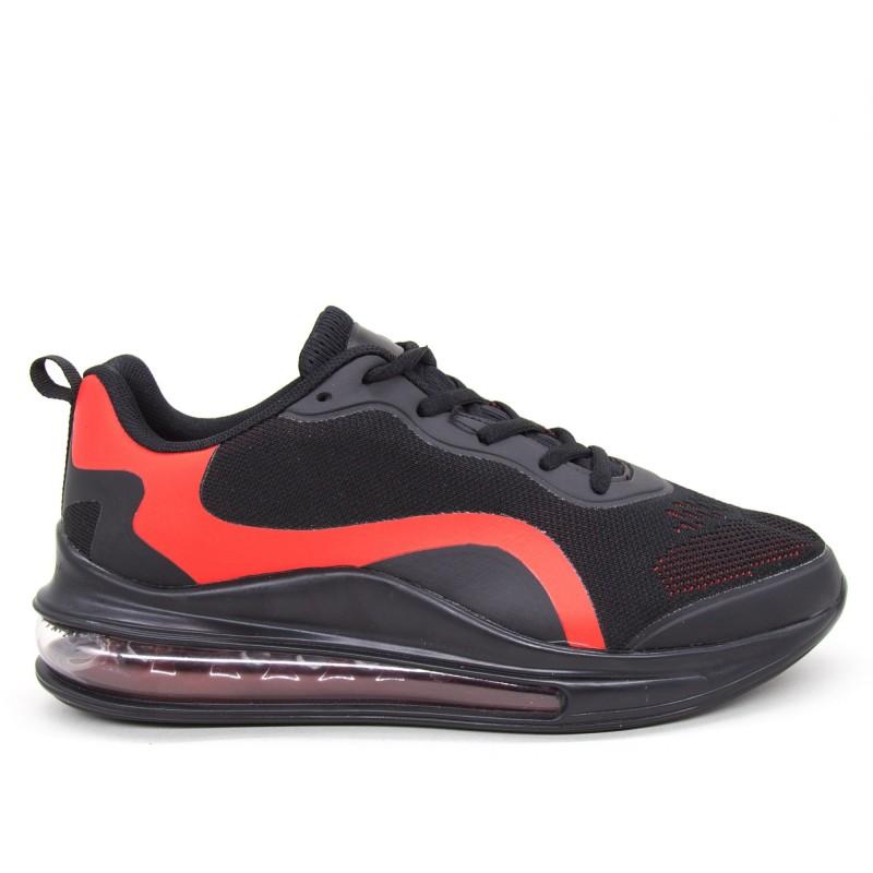 Pantofi Sport Barbati YKQ133 Black-red Mei