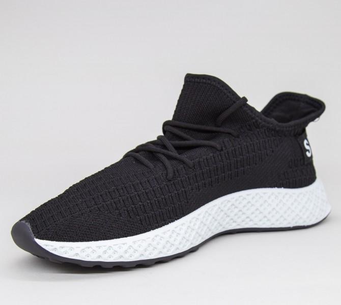 Pantofi Sport Barbati GB81 Black-white Mei