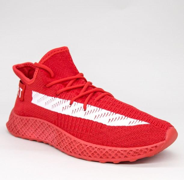 Pantofi Sport Barbati GB81 Red-white Mei