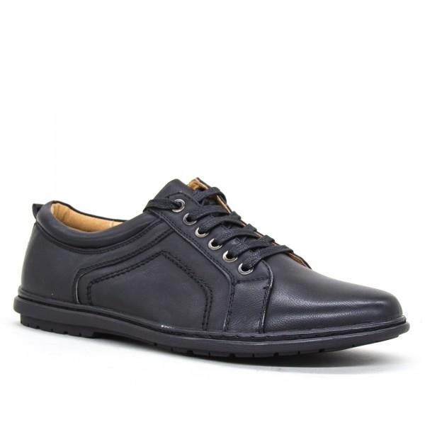 Pantofi Barbati 6A31-1 Black Clowse
