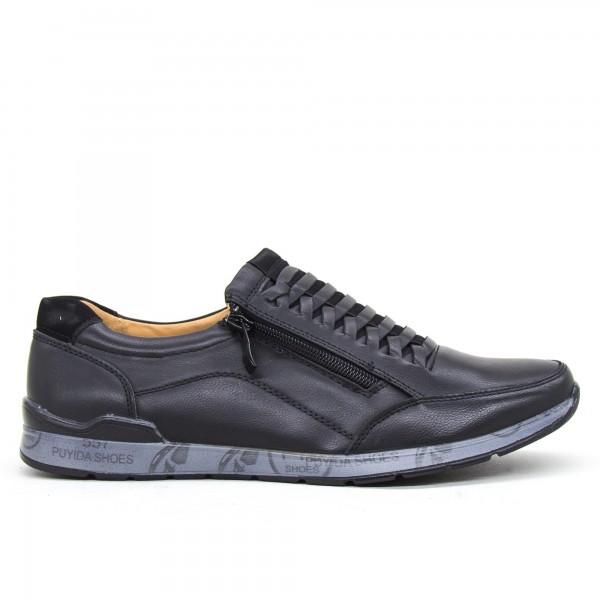 Pantofi Barbati 6A38-1 Black Clowse