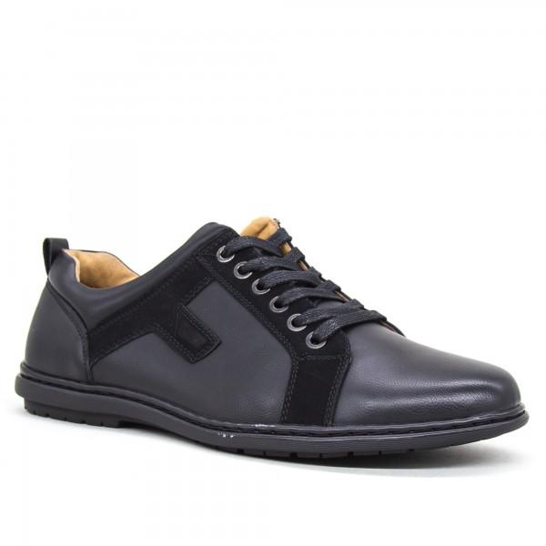 Pantofi Barbati 6A32-1 Black Clowse