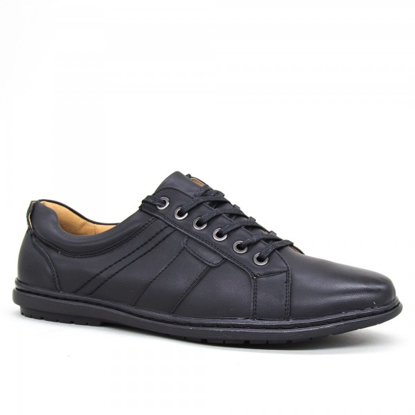 Pantofi Barbati 6A30-1 Black Clowse