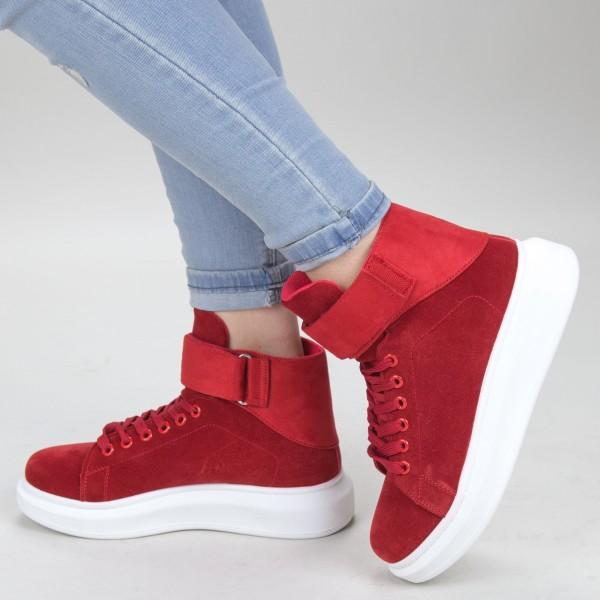 Pantofi Sport Dama YKQ156 Red Mei