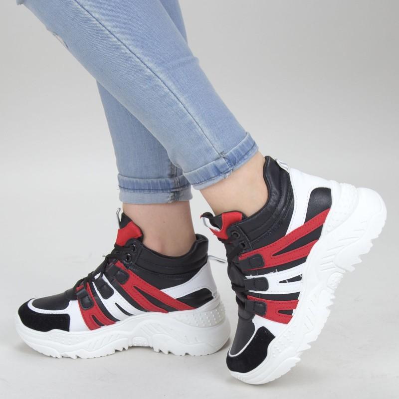 Pantofi Sport Dama HMM15 Black Mei