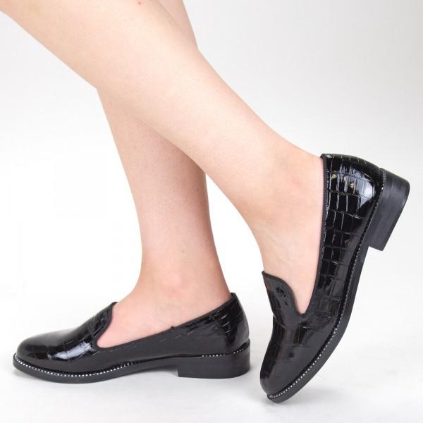 Pantofi Casual Dama GH19120 Black Mei