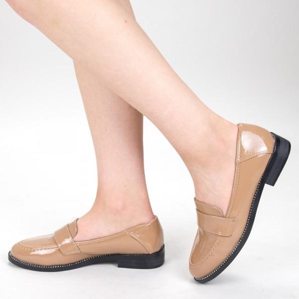 Pantofi Casual Dama GH19121 Khaki Mei