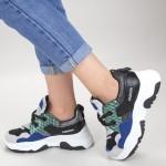 Pantofi Sport Dama YKQ116 Blue Mei