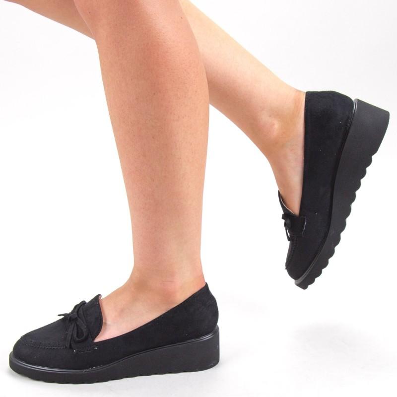 Pantofi Casual Dama HJ13 Black Mei