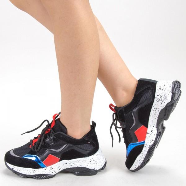 Pantofi Sport Dama L25 Black Mei