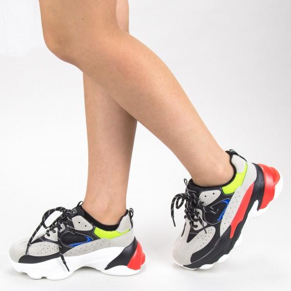 Pantofi Sport Dama 19052 Black Sport Fashion