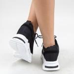 Pantofi Sport Dama 969 PSD Black Mei