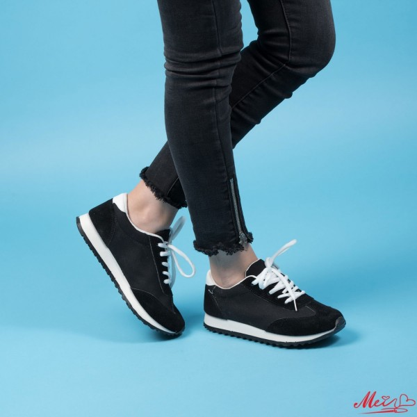 Pantofi Sport Dama D28 Black Mei