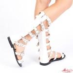 Sandale Dama FD16 White Mei