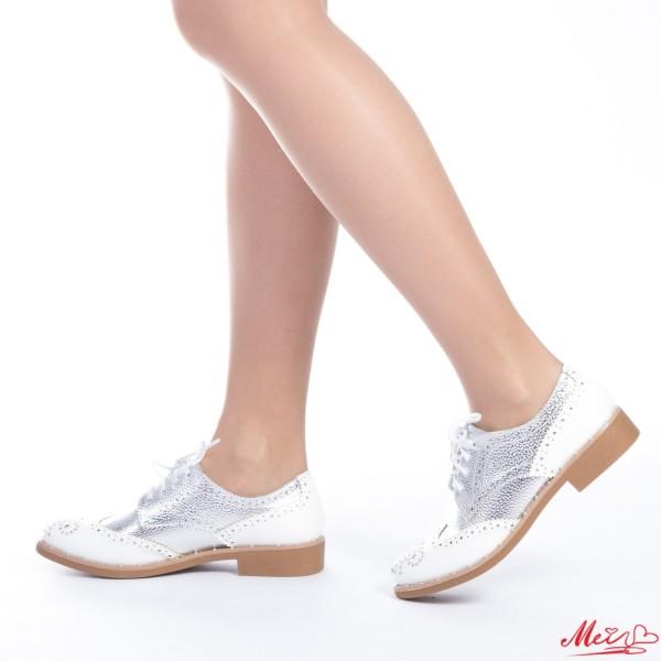 Pantofi Casual Dama FD6 Silver Mei
