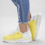 Pantofi Sport Dama HMM26 Yellow Mei