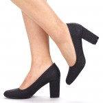 Pantofi cu Toc YXD1 Black Mei