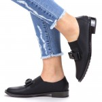 Pantofi Casual Dama YEH5 Black Mei
