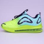 Pantofi Sport Barbati 367-20 PSB Green-Blue Sport Fashion