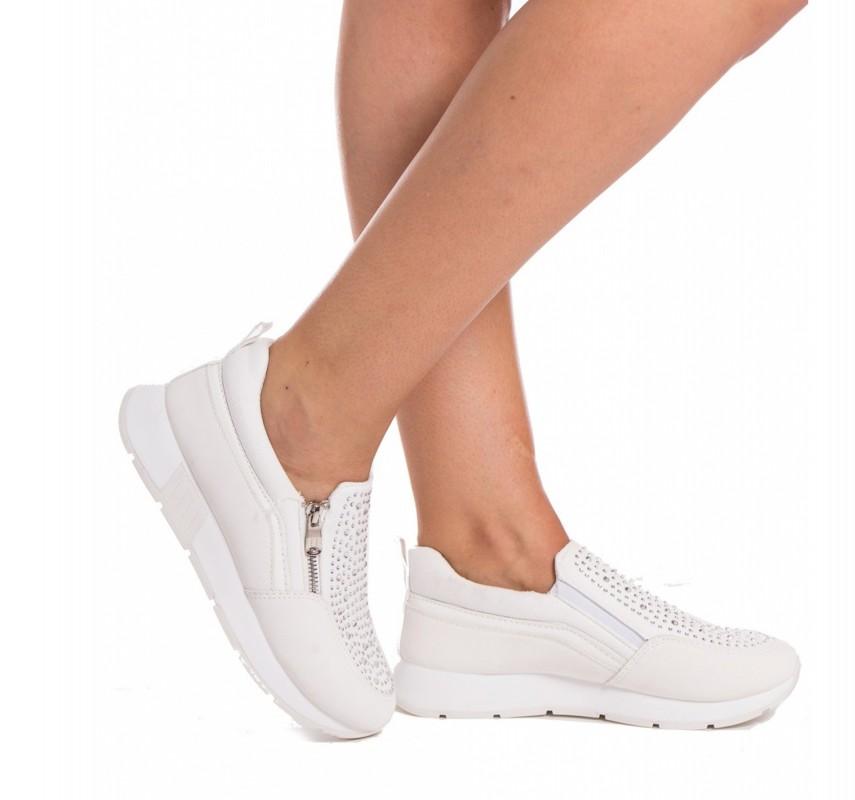 Pantofi Sport Dama KH17 White Mei
