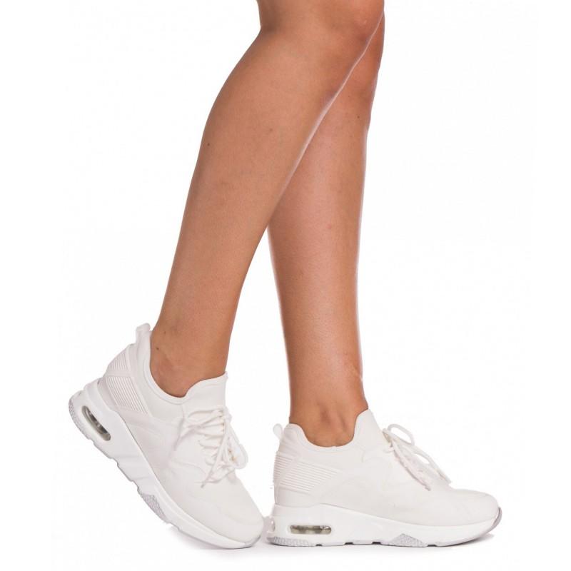 Pantofi Sport Dama SZ153 White Mei
