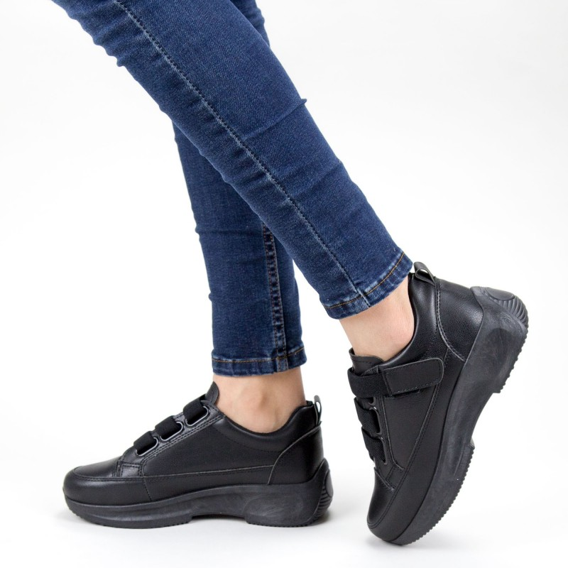 Pantofi Sport Dama XC7 05 ALL BLACK MEI