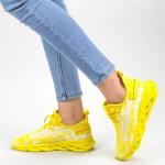 Pantofi Sport Dama XC16 Yellow Mei