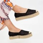 Pantofi Casual Dama HJ5 Black Mei