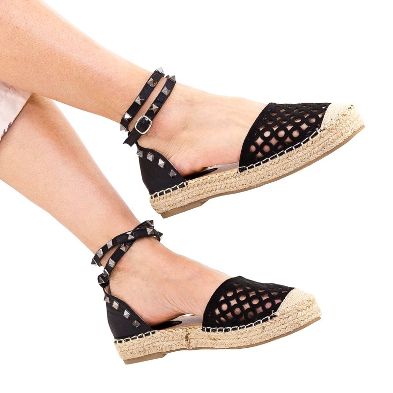 Pantofi Casual Dama HJ8 Black Mei
