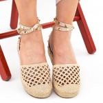 Pantofi Casual Dama HJ8 Beige Mei