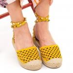 Pantofi Casual Dama HJ8 Yellow Mei