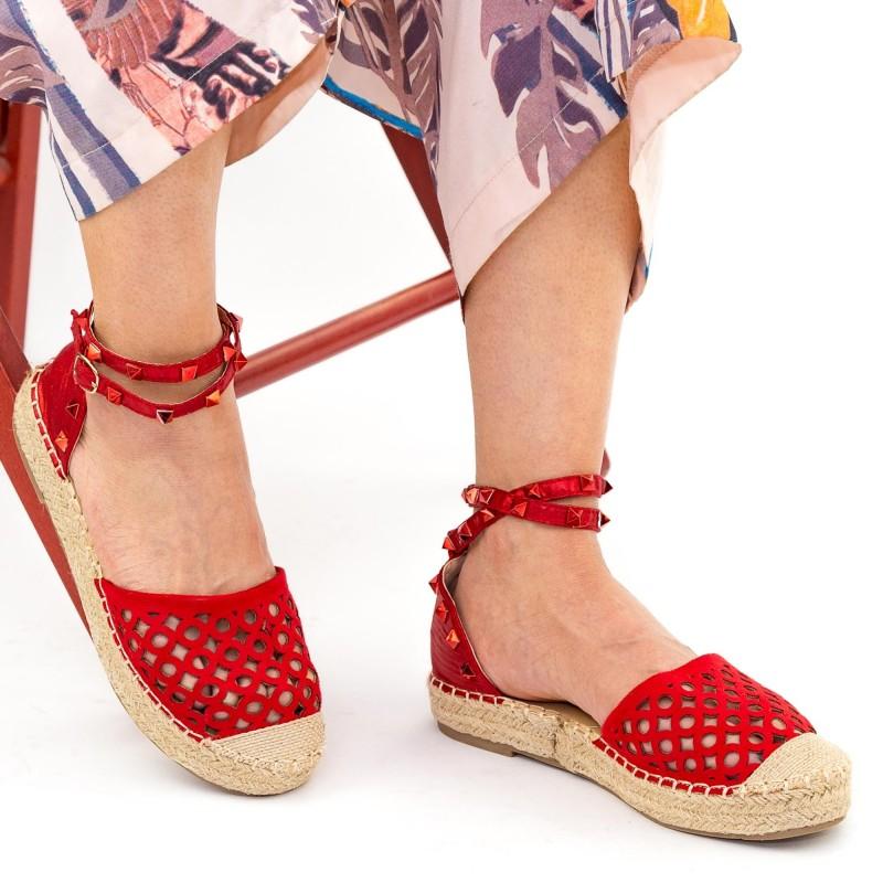Pantofi Casual Dama HJ8 Red Mei