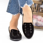 Pantofi Casual Dama WH12 Black Mei