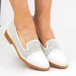 Pantofi Casual Dama YEH2 White Mei