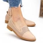 Pantofi Casual Dama YEH2 Beige Mei
