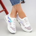 Pantofi Sport Dama SZ178 White Mei