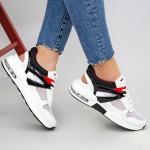Pantofi Sport Dama SZ178 White-Black Mei
