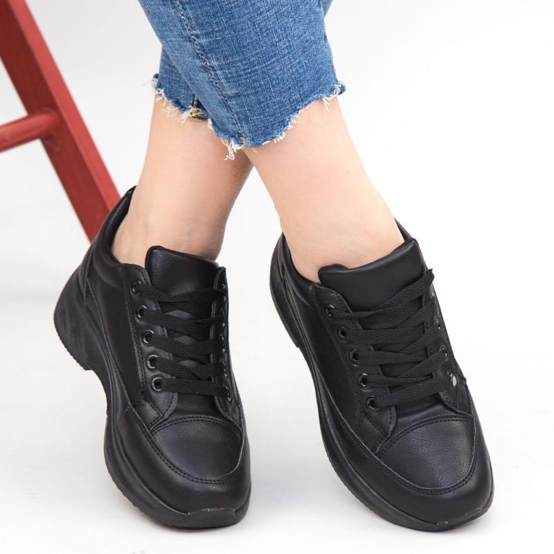 Pantofi Sport Dama XC8 All-Black Mei