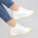 Pantofi Sport Dama XC8 White-yellow Mei