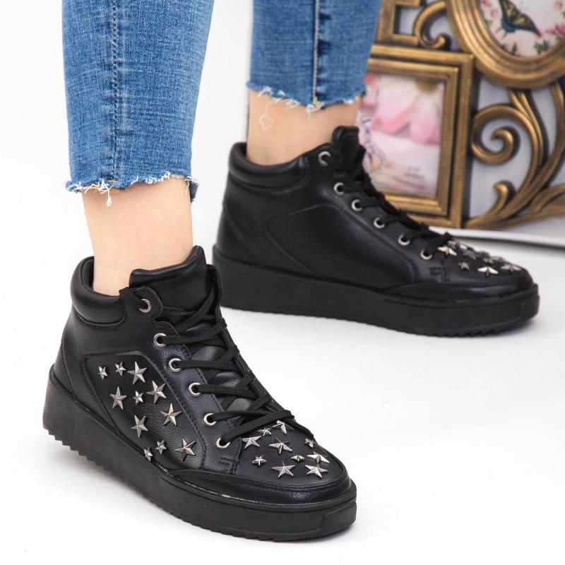 Pantofi Sport Dama CY1-2 Black Botinelli