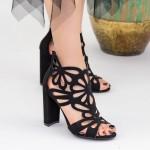 Sandale Dama cu Toc KV9 Black Mei